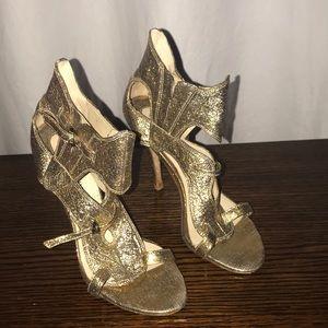 Shoes - Camilla Skovgaard Metallic Leather Sandals